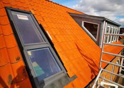 Velux altan i Skanderborg: Kunden drømte om at kunne åbne helt op ud til udsigten over Skanderborg Sø.